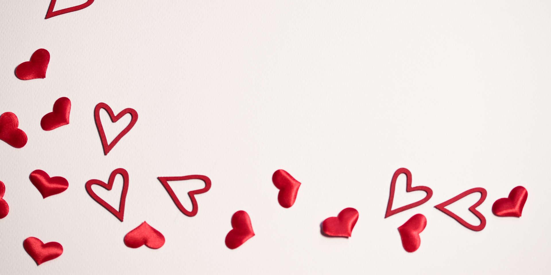 Valentinstag - 4-Gang-Menü um Verlieben