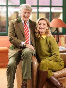 Zu sehen sind Brigitte und Wendelin von Boch