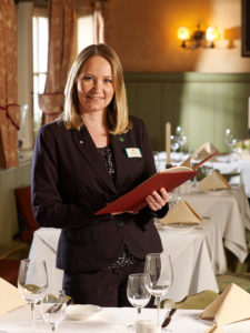 Abgebildet ist Yvonne Lauff, Restaurant