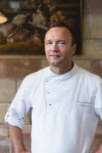 Abgebildet ist Gunnar Hoffman, Küchenchef