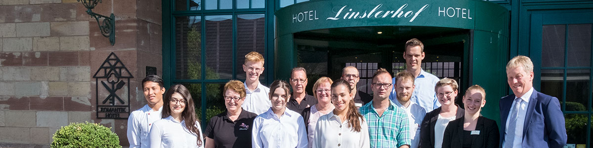 Das Linslerhof-Azubi-Team 2019